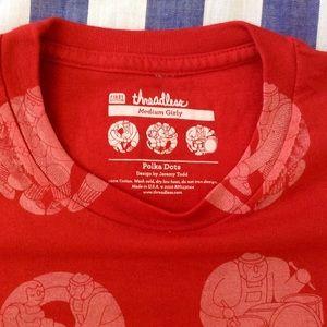 Threadless Polka Dots T-shirt (Medium)
